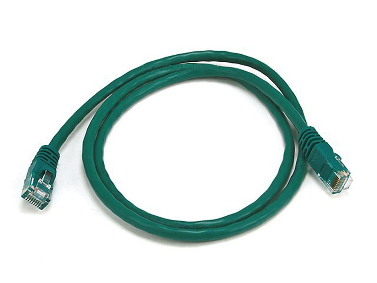 Cat5e 24AWG UTP Ethernet Network Patch Cable, 3ft Green