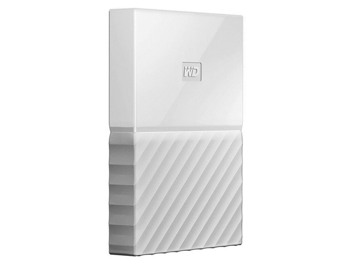 WD 3TB My Passport Portable Hard Drive USB 3.0 WDBYFT0030BWT-WESN - White