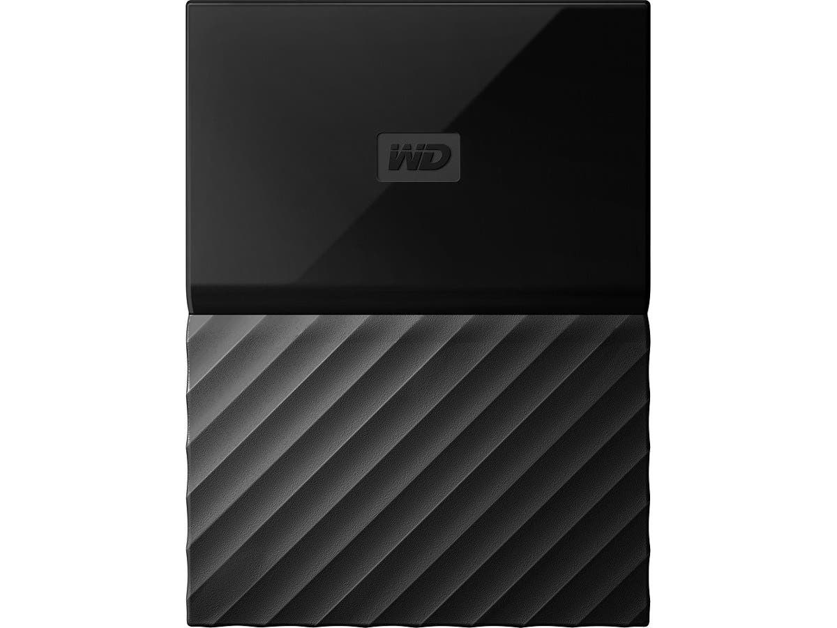WD 4TB Black My Passport for Mac Portable External Hard Drive - USB 3.0 - WDBP6A0040BBK-WESN