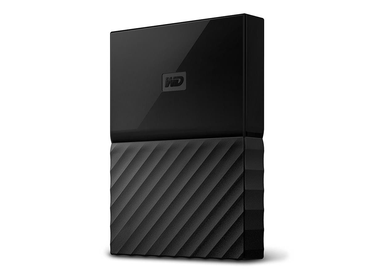 WD 1TB Black My Passport for Mac Portable External Hard Drive - USB 3.0 - WDBFKF0010BBK-WESN-Large-Image-1