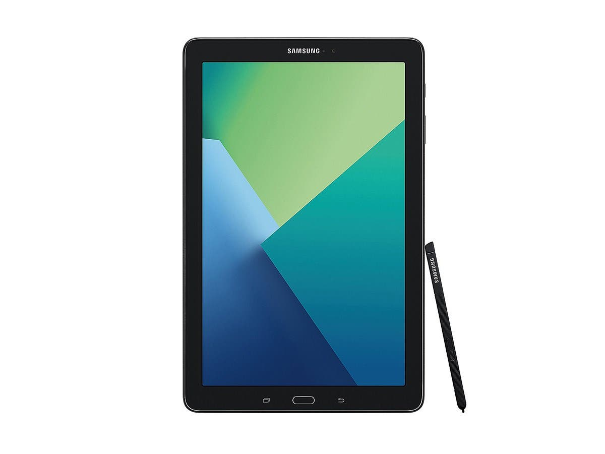 "Samsung Galaxy Tab A (2016) - 10.1"" Android 6.0 WiFi - 16GB with S Pen - Black-Large-Image-1"