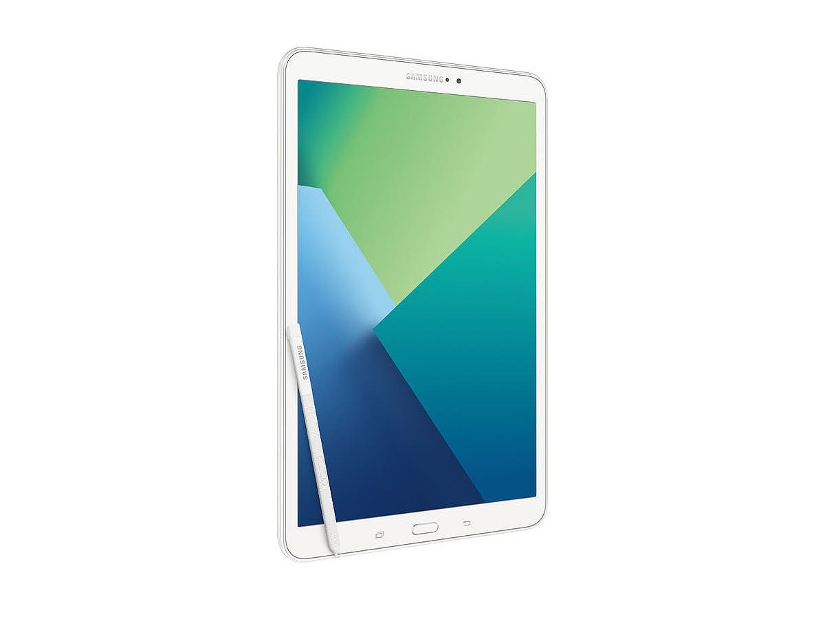 "Samsung Galaxy Tab A (2016) - 10.1"" Android 6.0 WiFi - 16GB with S Pen - White-Large-Image-1"