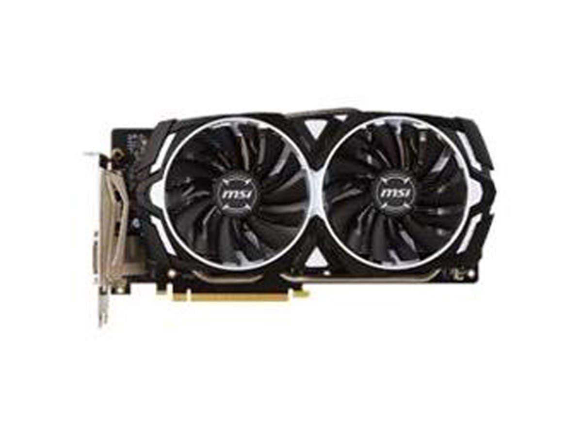MSI Geforce GTX 1060 GDDR5 6GB PCIE X16 DVI 2X DP 2X HDMI 120W VR - ARMOR6GOCV1