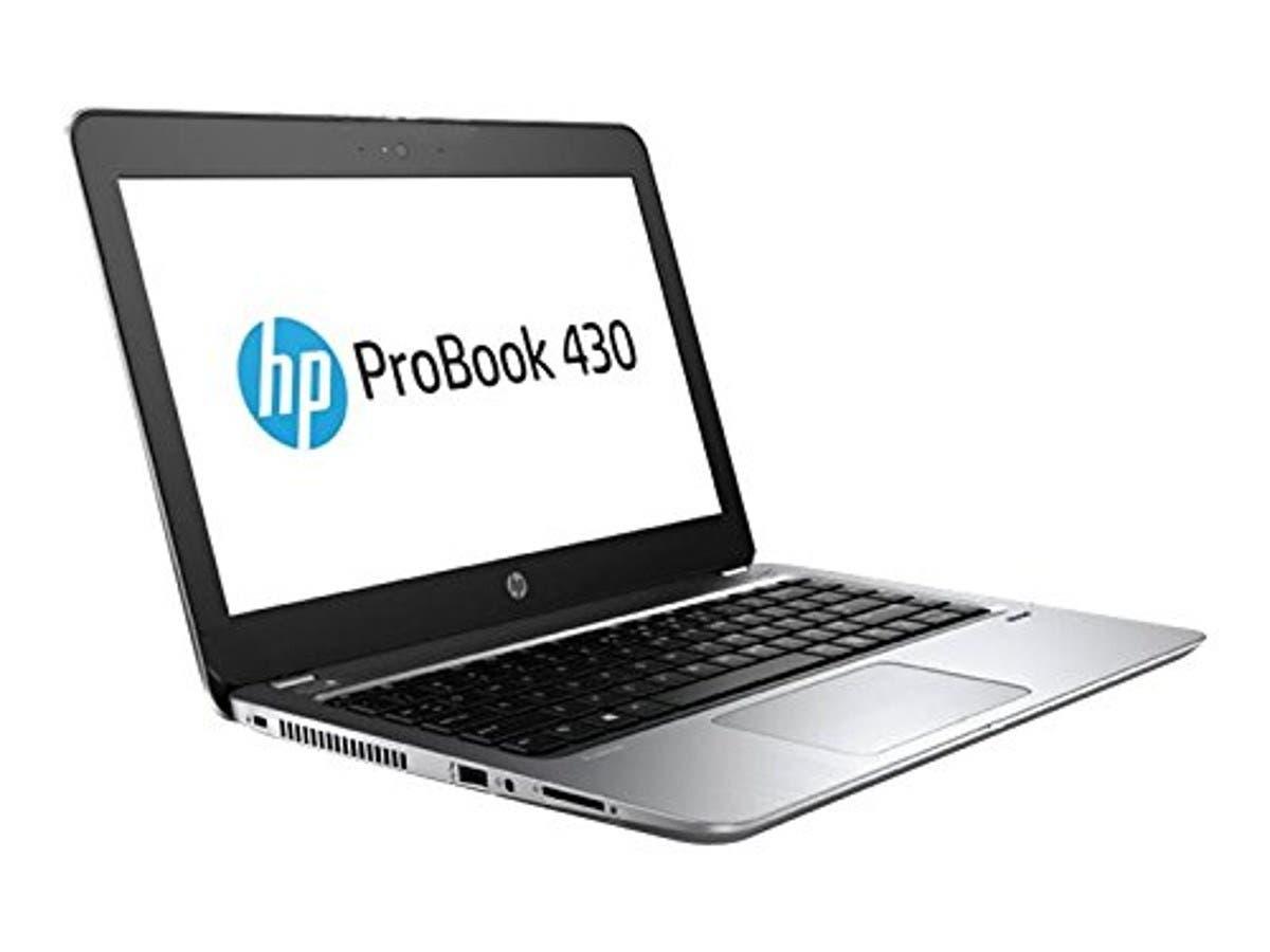 "HP Probook 430 G4 13.3"" Notebook, Windows, Intel Core i7 2.7 GHz, 8 GB RAM, 256 GB SSD, Gray (Y9G06UT#ABA)"