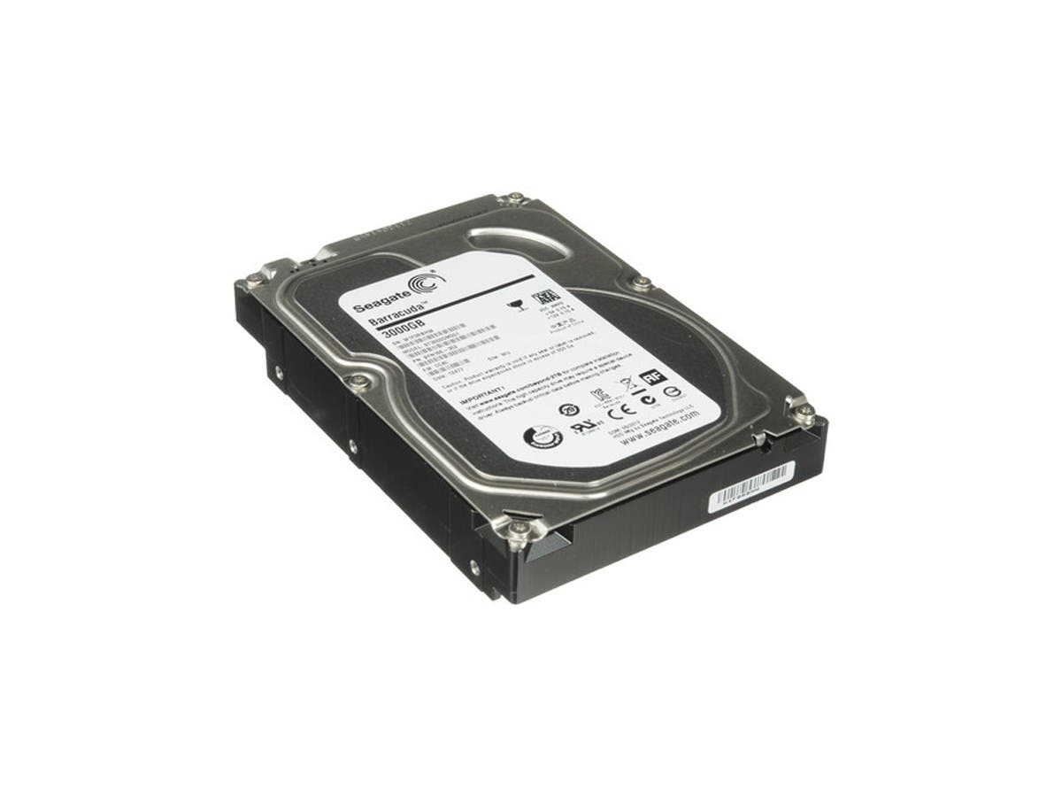 "Seagate 3TB Desktop HDD SATA 6Gb/s 64MB Cache 7200RPM 3.5"" Internal Drive - ST3000DM001"