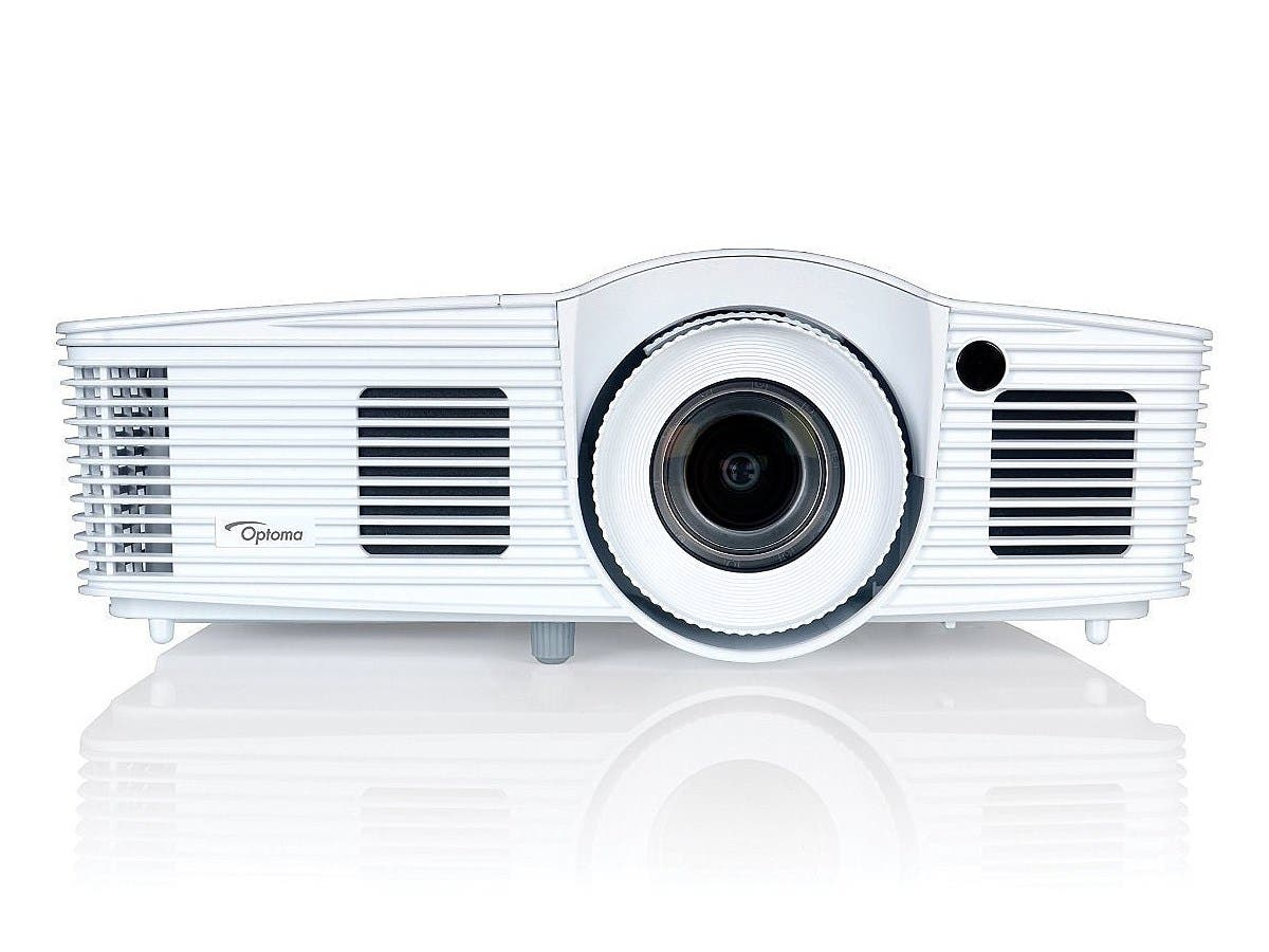 Optoma W416 WXGA 3D DLP Business Projector-Large-Image-1