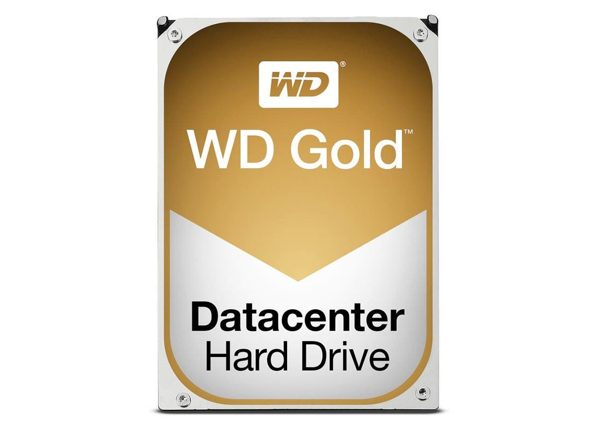 WD Gold 1TB Datacenter Hard Disk Drive - 7200 RPM Class SATA 6Gb/s 128MB Cache 3.5 inch - WD1005FBYZ