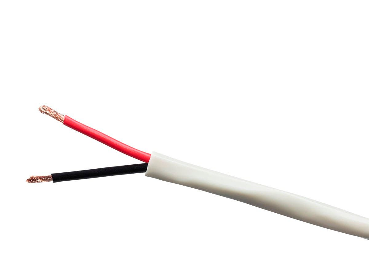 Monoprice Origin Series 14AWG 2-Conductor Burial Rated Speaker Wire, 250ft Gray-Large-Image-1