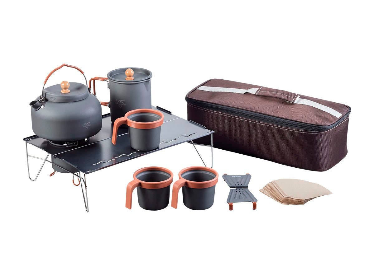 Pure Outdoor Coffee and Tea Set
