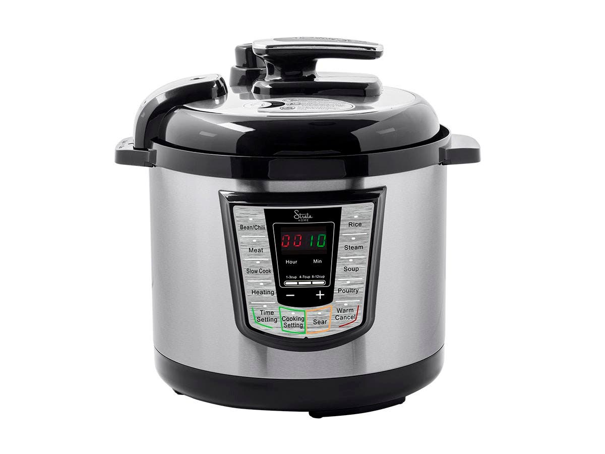 Strata Home by Monoprice All-in-One Pot 1000W Electric Pressure Cooker-Large-Image-1
