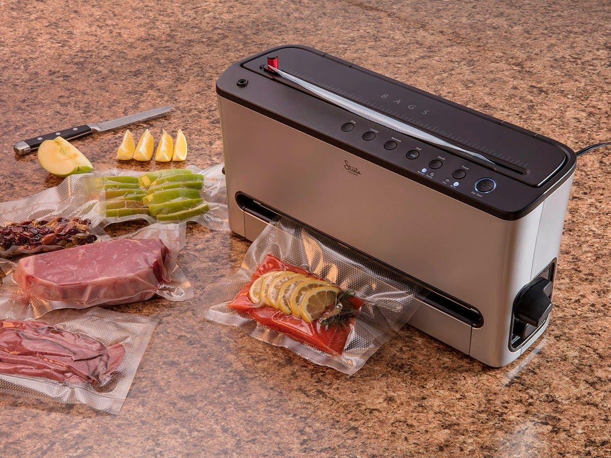 strata home vacuum food sealer share facebook twitter