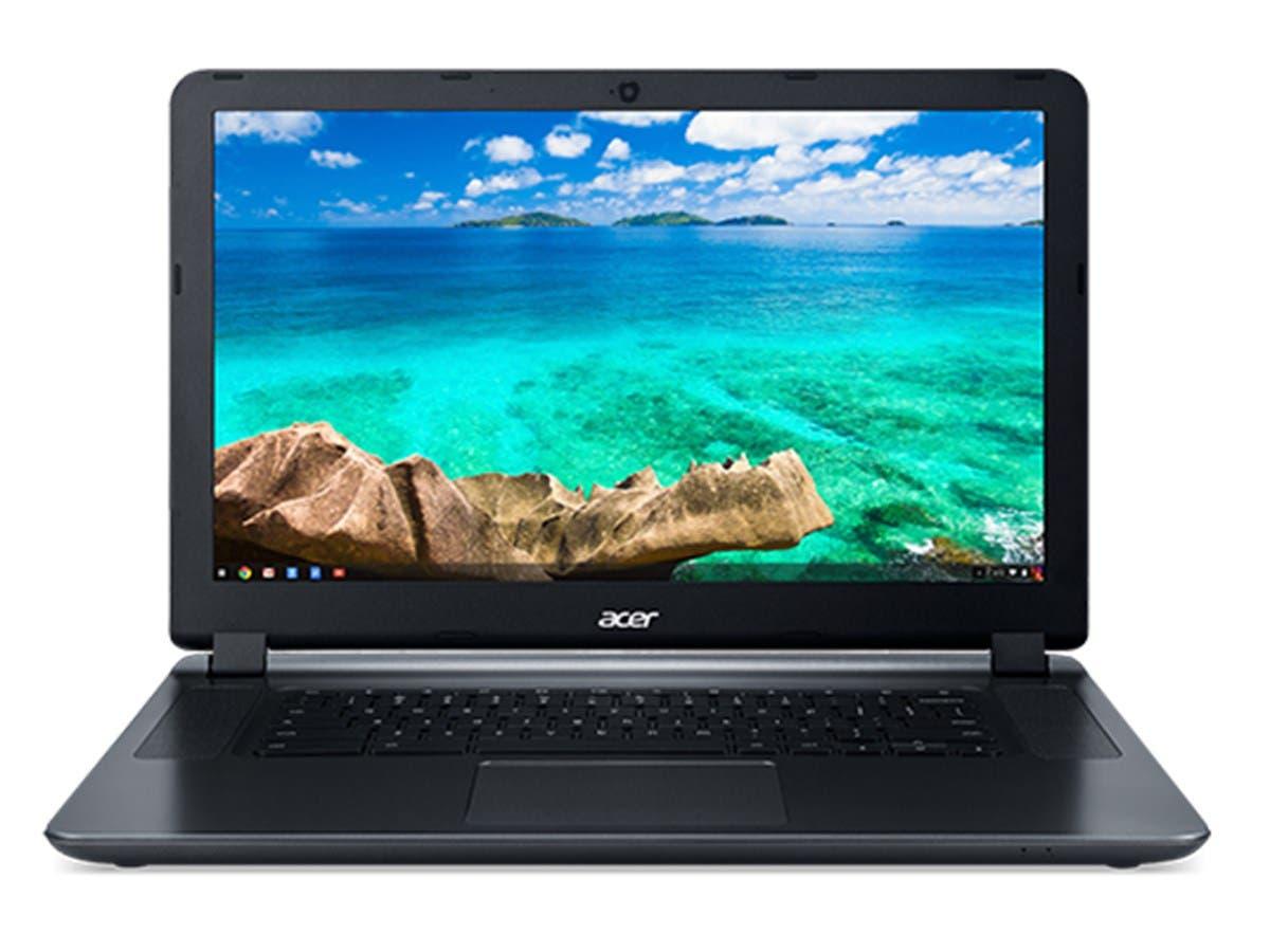 "Acer 15.6"" CB3-532-C47C Chromebook Celeron N3060 Dual-Core 1.6GHz 2GB RAM 16GB Flash ChromeOS (Manufacturer Recertified) NX.GHJAA.002"