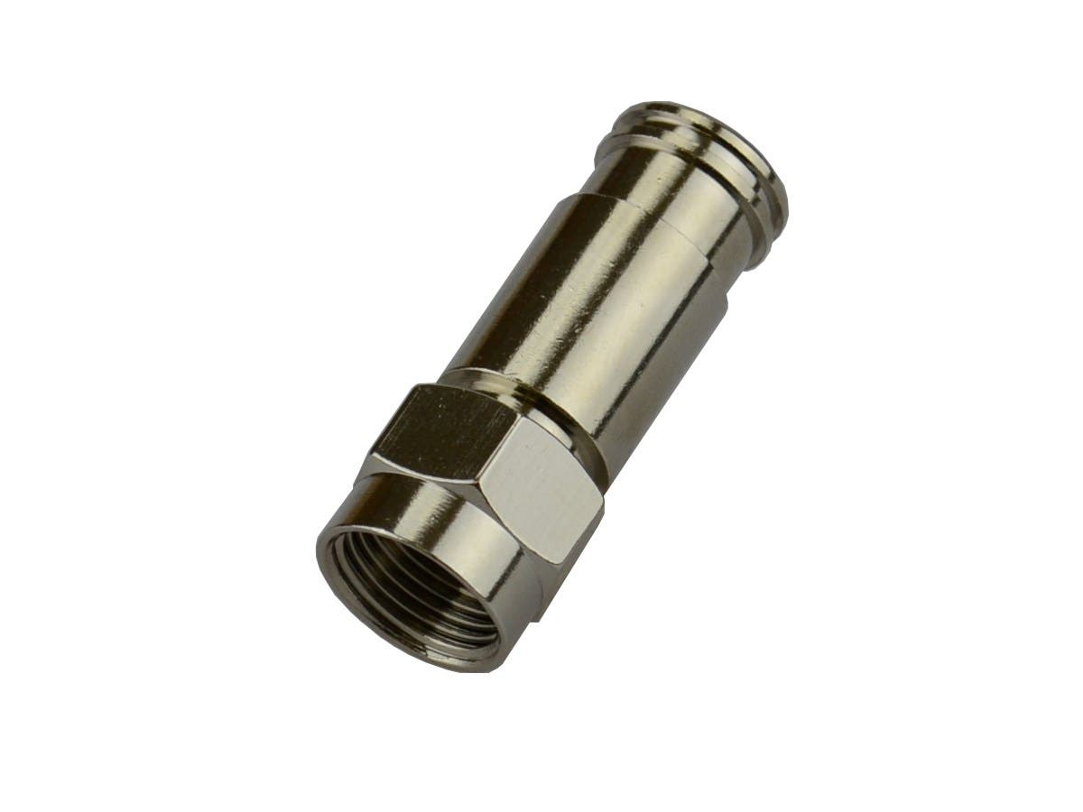 Monoprice RG-59 F-Connector Compression Fitting, 25 Pack-Large-Image-1
