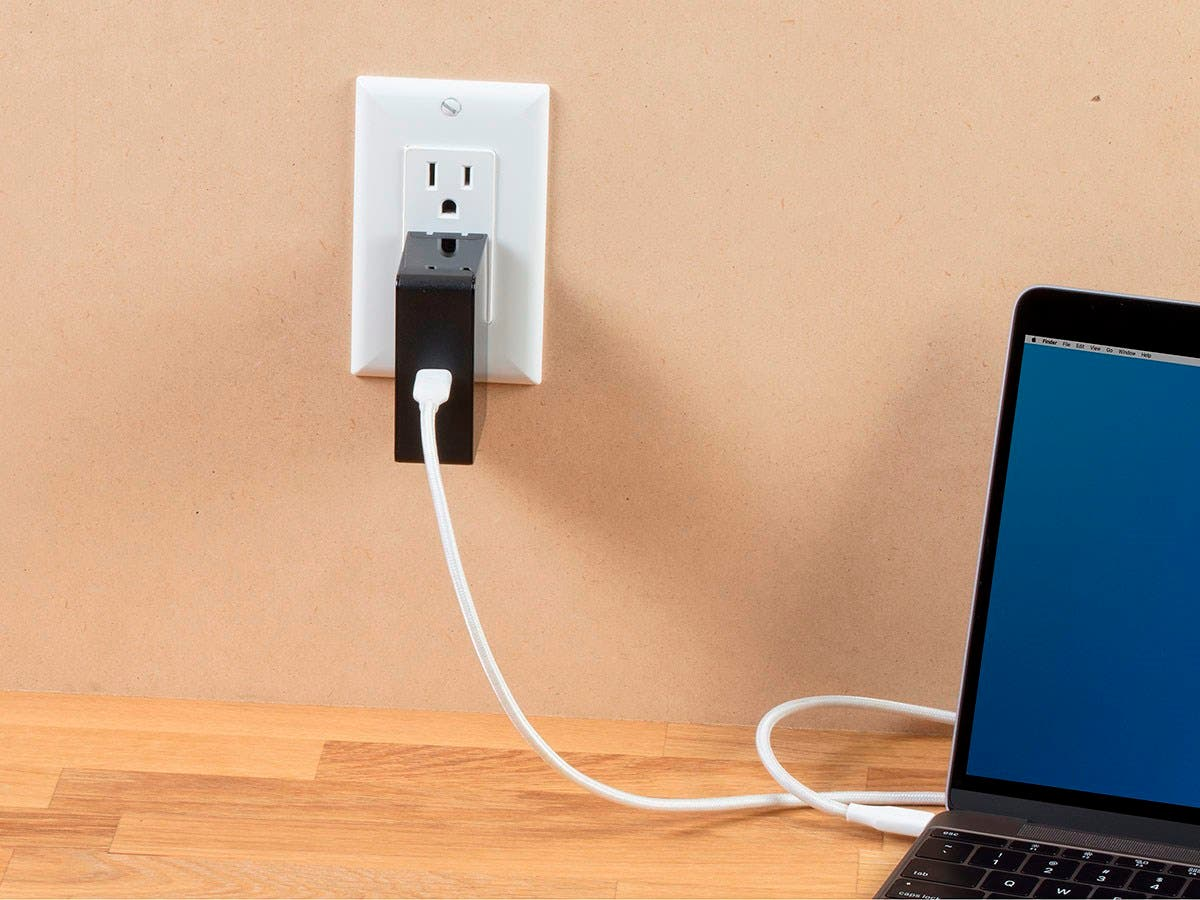 Monoprice Obsidian Speed USB Wall Charger, 1-Port, 45W PD Output for