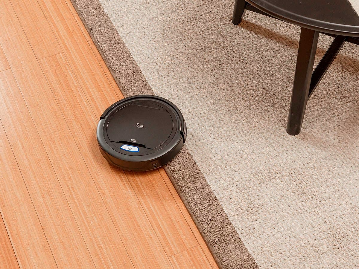 Strata Home By Mono Cadet High Suction Robotic Vacuum Cleaner For Pet Fur And Allergens