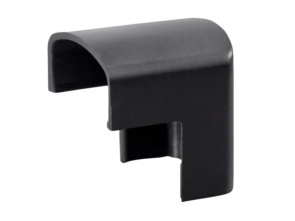 Outer Corner Cover for Cable Management, Black