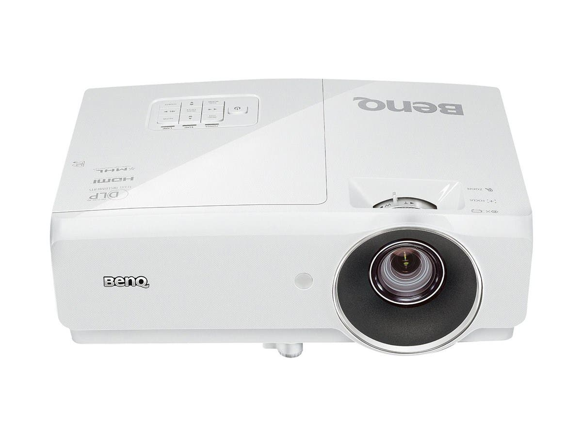 BenQ MH741 3D Ready DLP Projector - 1080p - HDTV - 16:9 - Ceiling, Front - 260 W - 2500 Hour Normal Mode - 3500 Hour Economy Mode - 1920 x 1080 - Full HD - 10,000:1 - 4000 lm