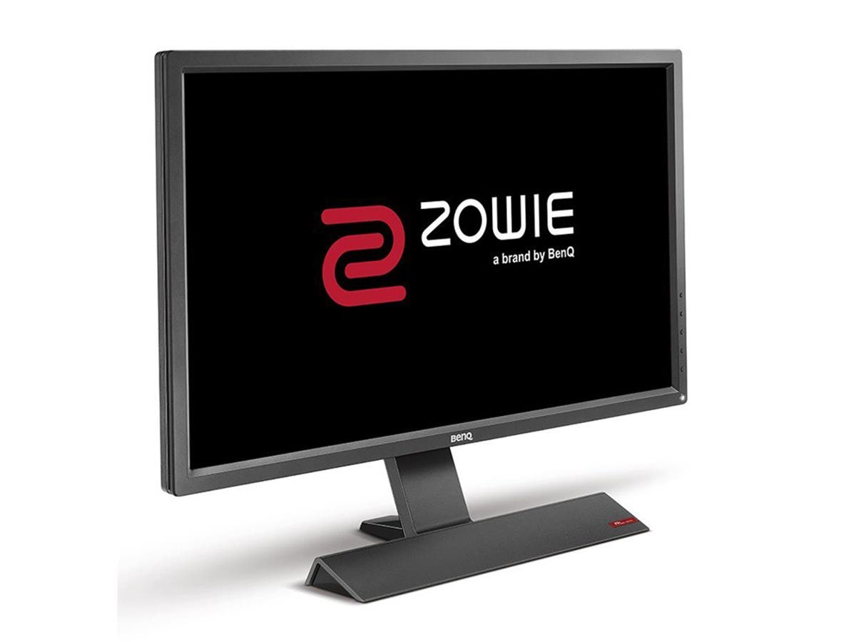 "BenQ Zowie RL2755 27"" LED LCD Monitor - 16:9 - 1 ms - 1920 x 1080 - 300 Nit - 12,000,000:1 - Full HD - Speakers - DVI - HDMI - VGA - 45 W E-SPORTS MONITOR-Large-Image-1"