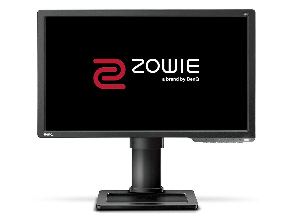"BenQ Zowie XL2411 24"" LED LCD Monitor - 16:9 - 1 ms - 1920 x 1080 - 350 Nit - 12,000,000:1 - Full HD - DVI - HDMI - VGA - Black E-SPORTS MONITOR"