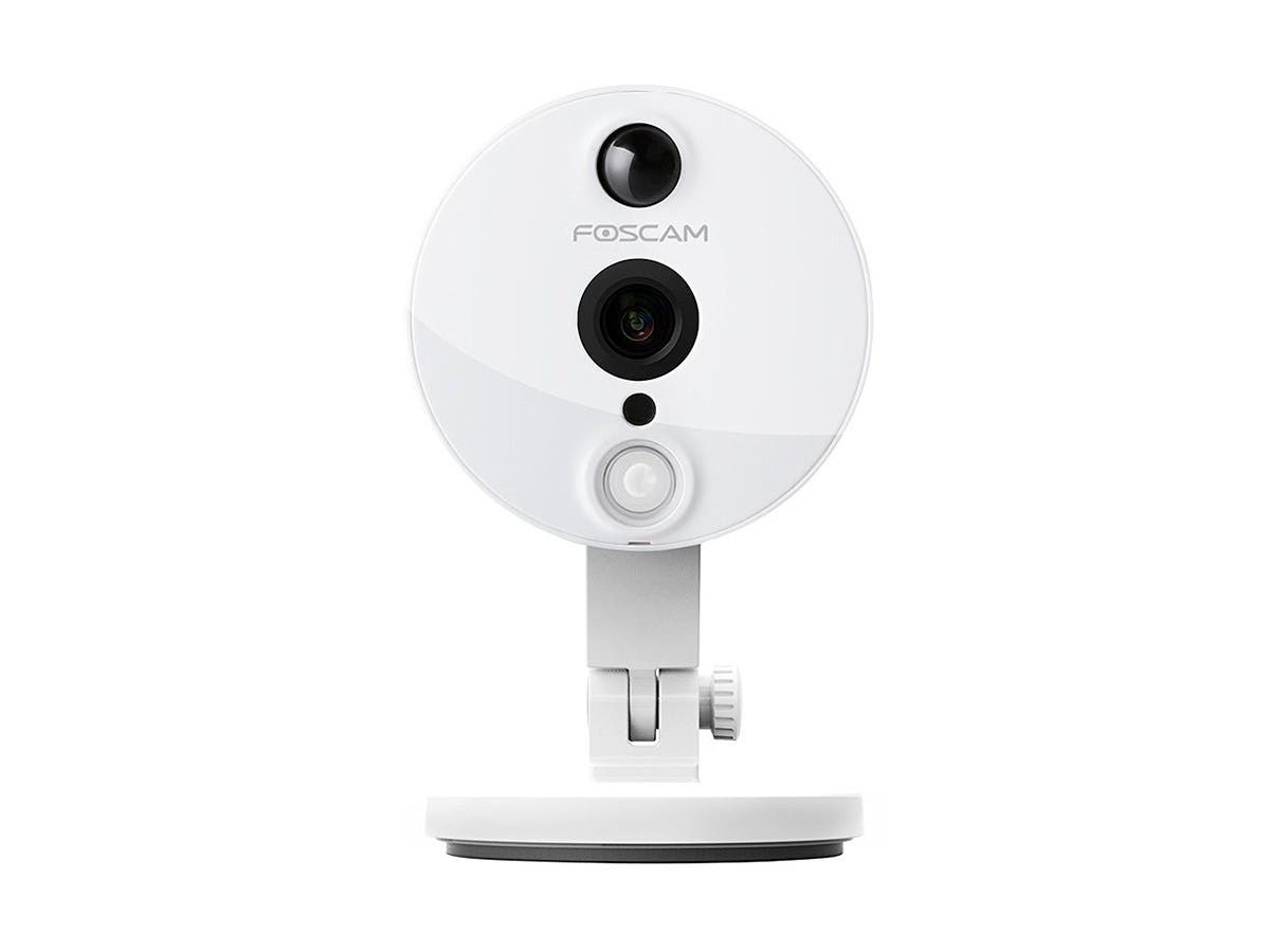 Foscam C2W Indoor 1080P FHD Wireless Plug and Play IP Camera White Recertified