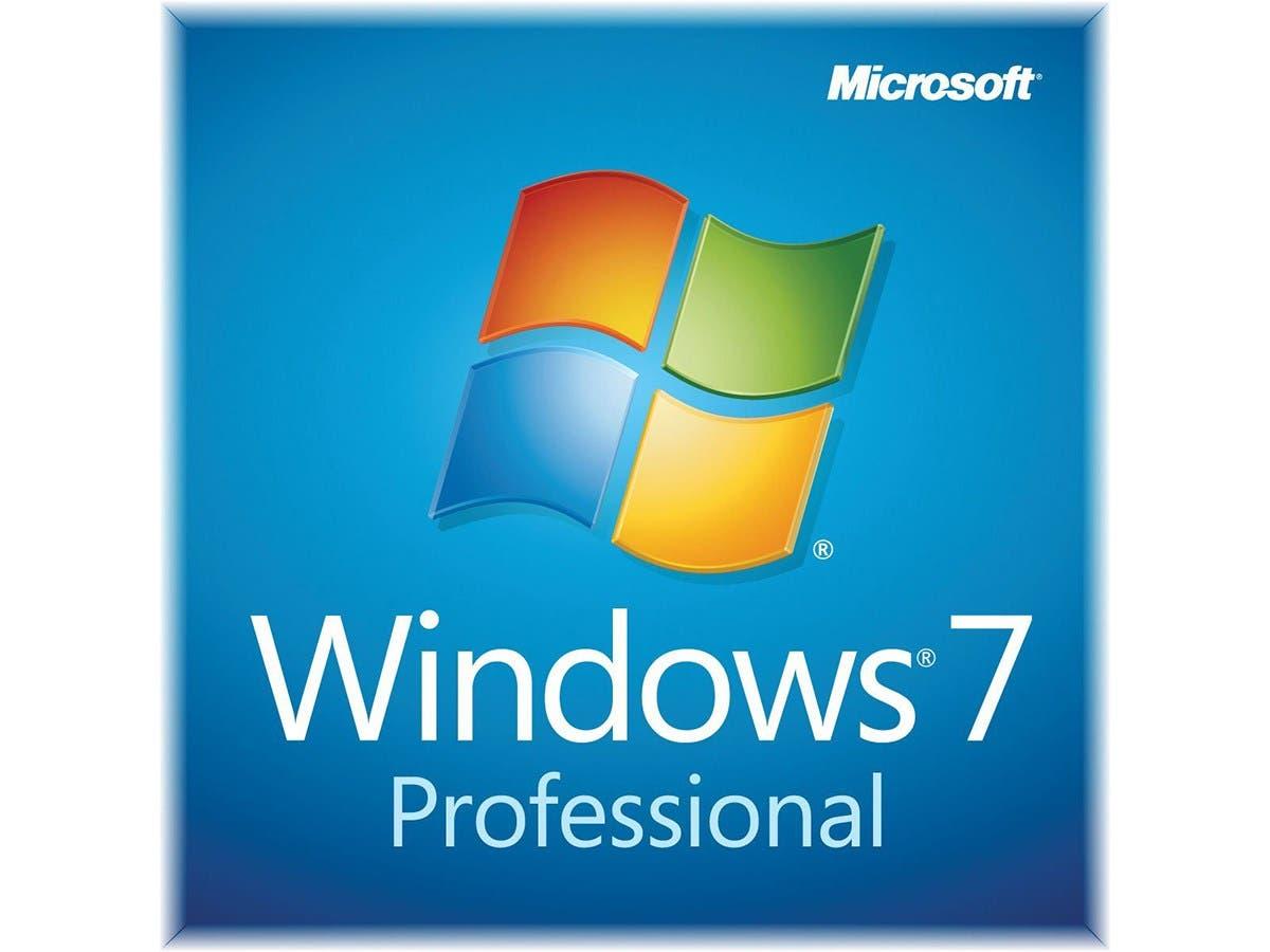 Windows 7 Professional SP1 64bit (OEM) System Builder DVD 1 Pack -Large-Image-1