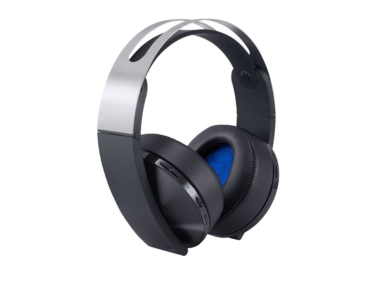 Sony PS4 Platinum Wireless 7.1 Virtual Surround Sound Gaming Headset for PlayStation 4-Large-Image-1
