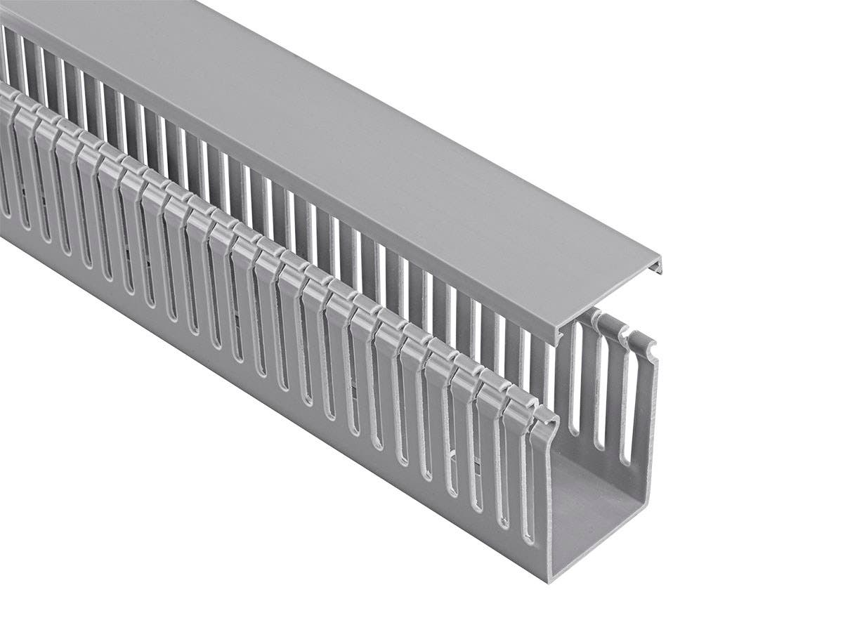 Monoprice Open Slot Wiring Raceway Duct with Cover, 6 Feet Long ...
