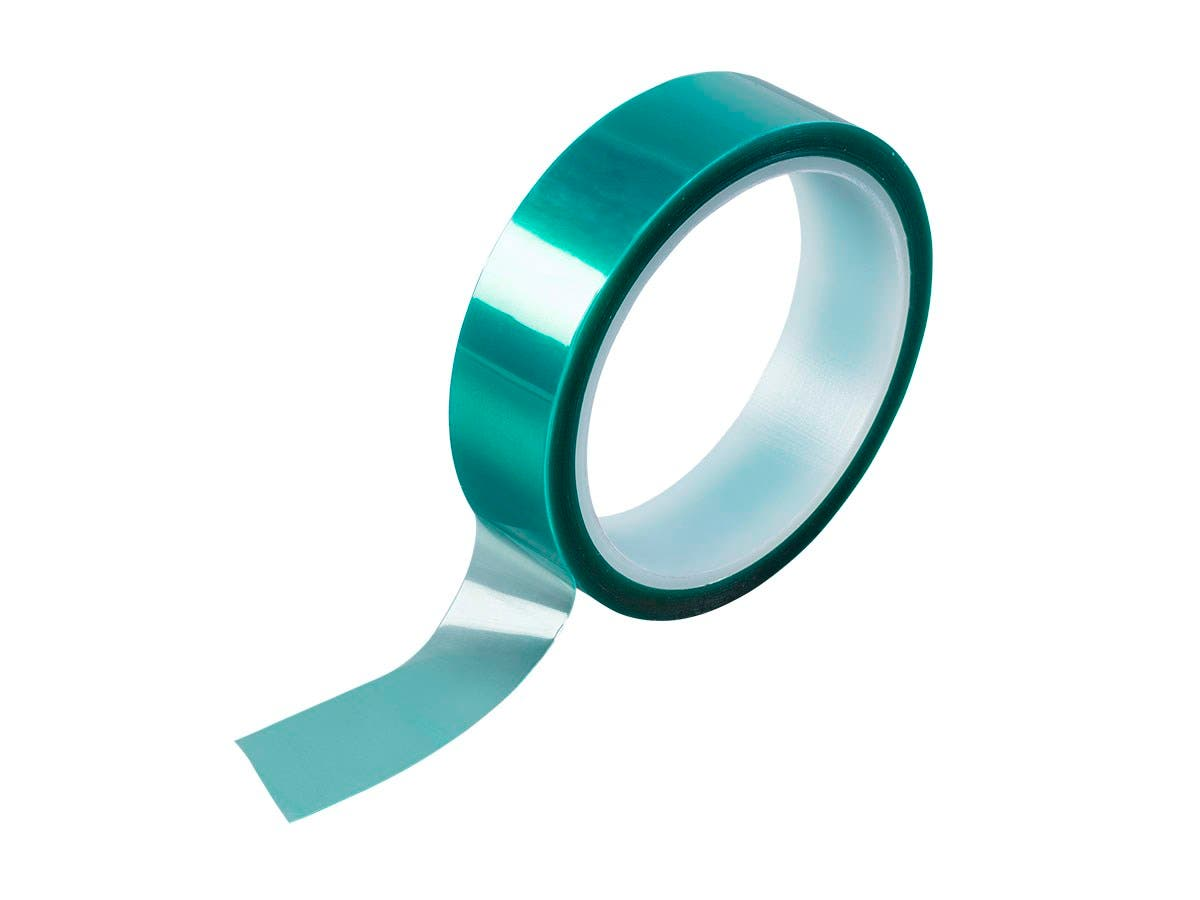 Green PET Tape, 25mm