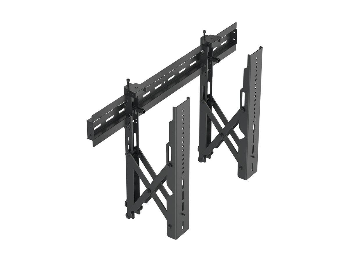 Monoprice Entegrade Series Specialty Menu Board TV Wall Mount Bracket with Push-to-Pop-Out - Max Weight 99lbs, Extension Range of 2.4in to 8in, VESA Patterns Up to 600x400, Security Brackets-Large-Image-1
