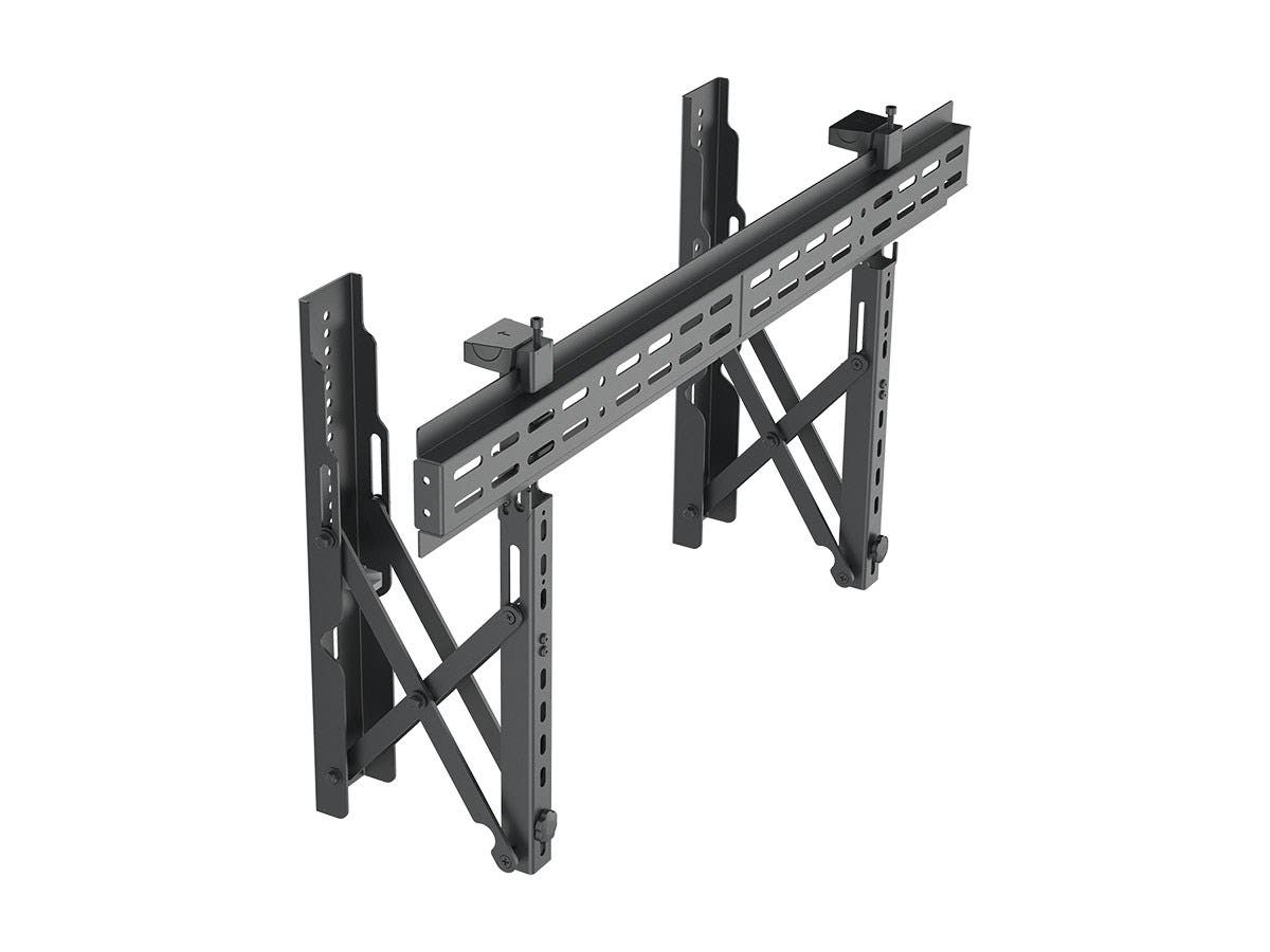 Monoprice Entegrade Series Specialty Menu Board TV Wall Mount Bracket with Push-to-Pop-Out - Max Weight 99lbs, Extension Range of 2.4in to 8in, VESA Patterns Up to 800x400, Security Brackets-Large-Image-1