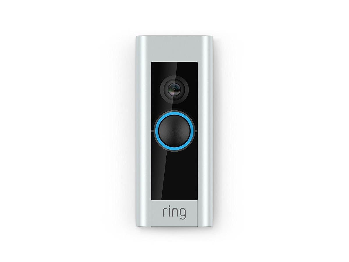 Ring - Video Doorbell Pro - Satin Nickel/Venetian/Satin Black/Pearl White