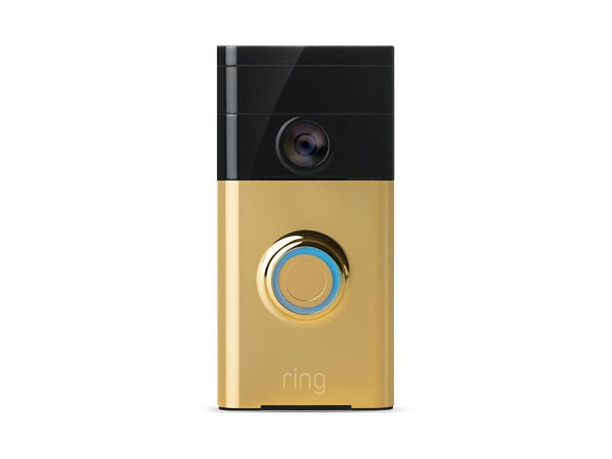 Ring Wi-Fi Smart Video Doorbell (Polished Brass)-Large-Image-1