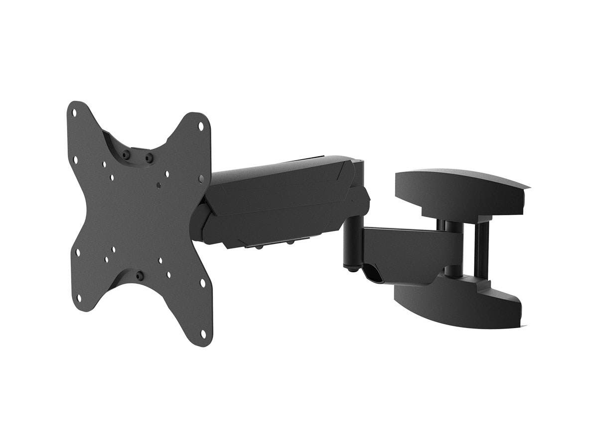 Monoprice Smooth Series Full-Motion Articulating TV Wall Mount Bracket - For TVs Up to 42in, Max Weight 66lbs, Extension Range of 2.3in to 22.2in, VESA Up to 200x200, Rotating , Height Adjustable-Large-Image-1