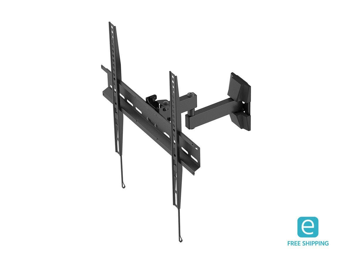 Monoprice Essentials Focal Series Full Motion Wall Mount for Medium Displays-Large-Image-1