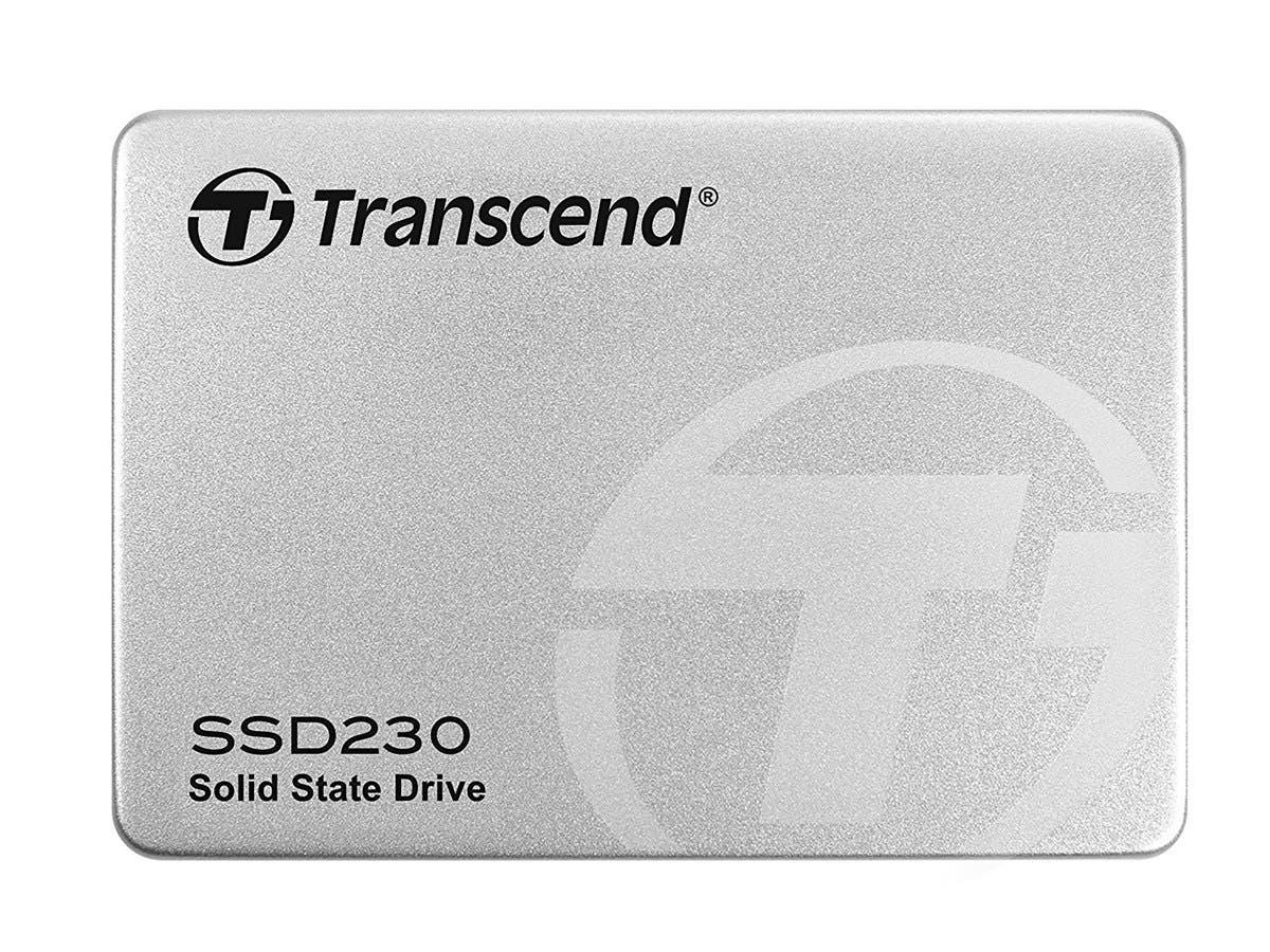"""Transcend TS256GSSD230S 256GB 3D TLC SATA III 6GB/S 2.5"""" Solid State Drive 230 2.5"""""""