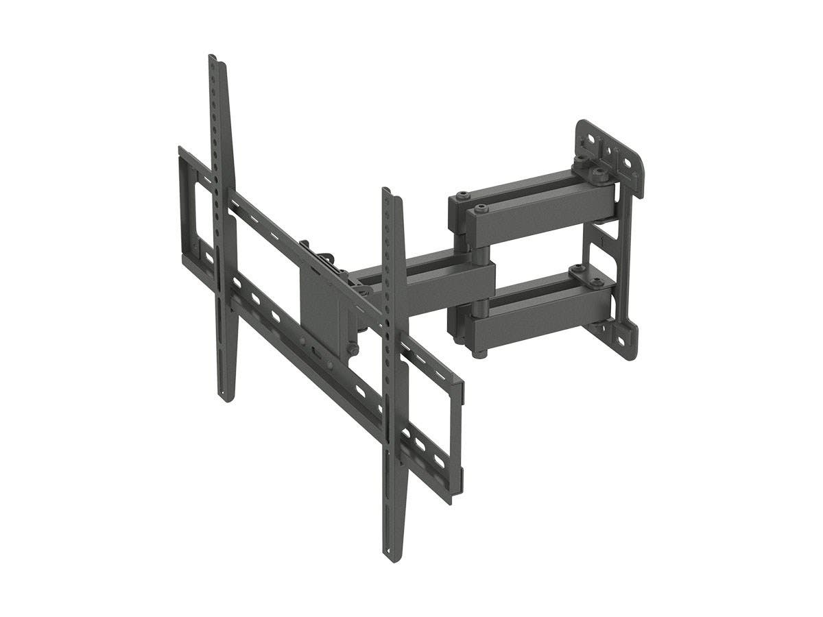 Monoprice Titan Series Full-Motion Articulating TV Wall Mount Bracket For TVs Up to 70in, Max Weight 99lbs, VESA Patterns Up to 600x400, Rotating-Large-Image-1