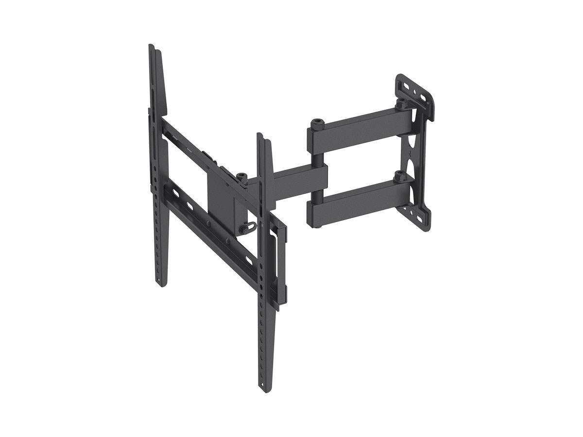 Monoprice Titan Series Full-Motion Articulating TV Wall Mount Bracket - For TVs Up to 55in, Max Weight 77lbs, VESA Patterns Up to 400x400, Rotating-Large-Image-1