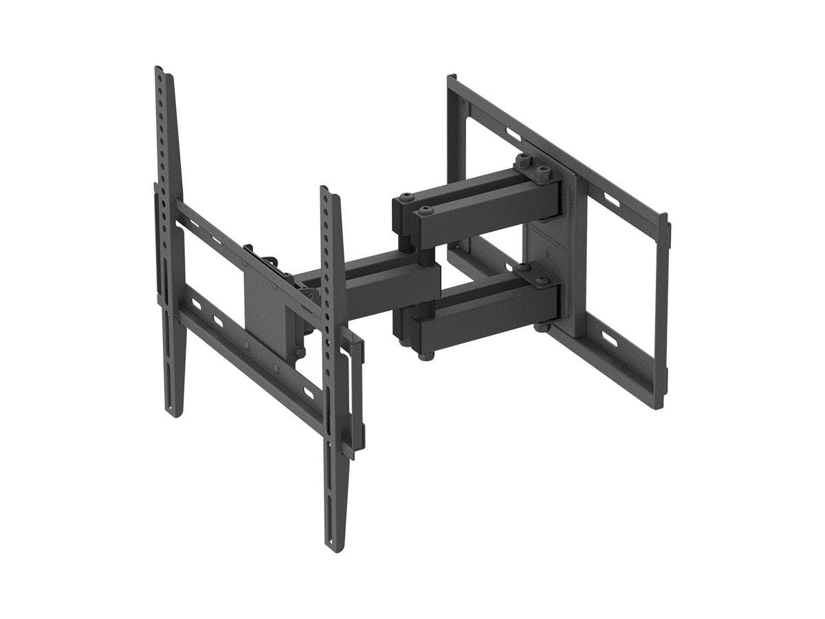 Titan Series Dual Stud Full Motion Wall Mount for Medium Displays Max 99lbs