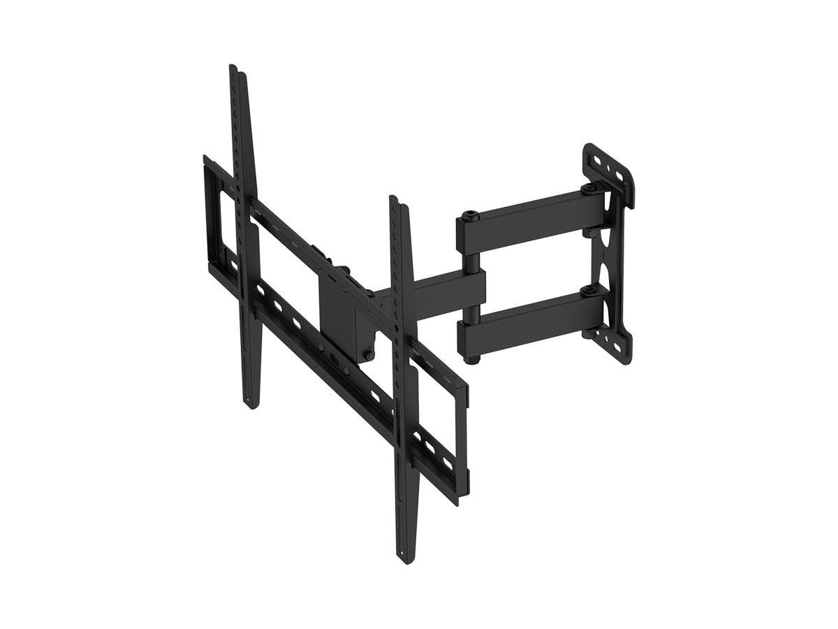 Titan Series Single Stud Single Arm Full Motion Wall Mount for Large Displays Max 77lbs