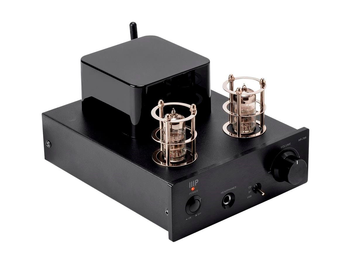 Monoprice Stereo Tube Headphone Amp With 24-bit/96kHz USB