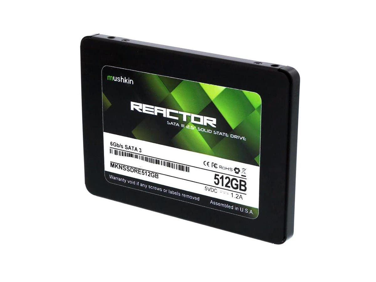 "Mushkin Enhanced Reactor 2.5"" 512GB SATA III MLC Internal (SSD) MKNSSDRE512GB"