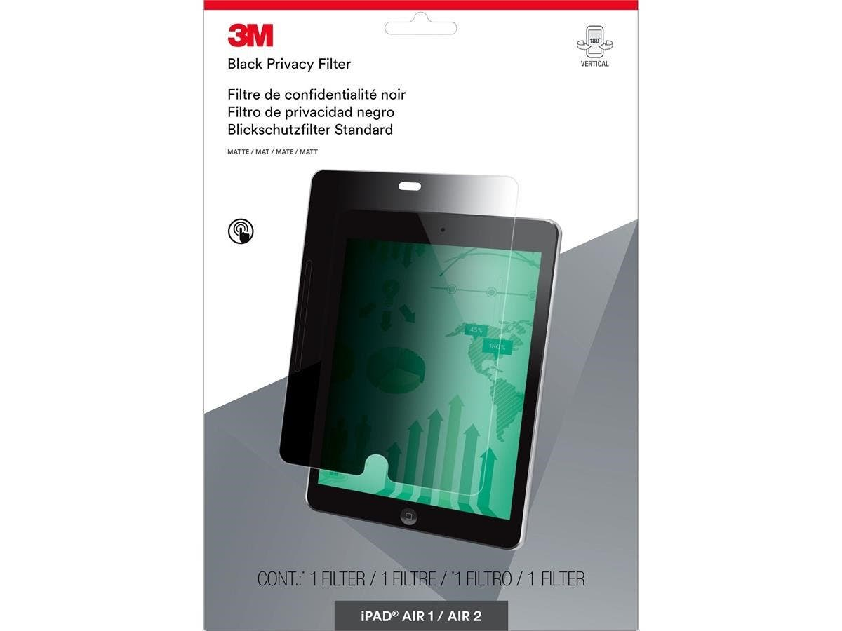 "3M Privacy Filter for iPad Air 1/2 - Portrait - For 9.7""iPad Air-Large-Image-1"