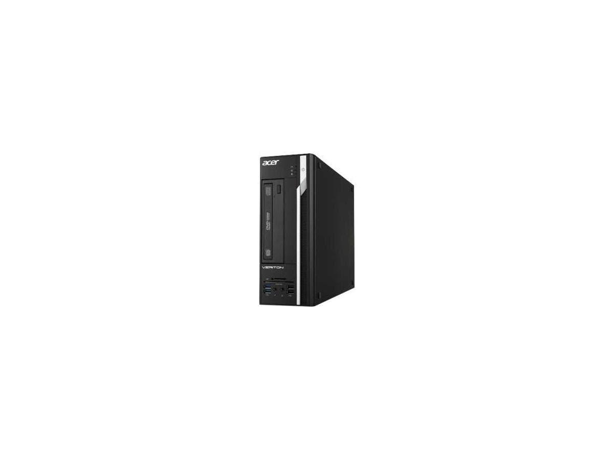 Acer Veriton X4640G Desktop Computer - Intel Core i3 (6th Gen) i3-6100 3.70 GHz - 4 GB DDR4 SDRAM RAM - 500 GB HDD - DVD-Writer DVD-RAM/±R/±RW - Windows 7 Professional 64-bit - 10 x Total Nu