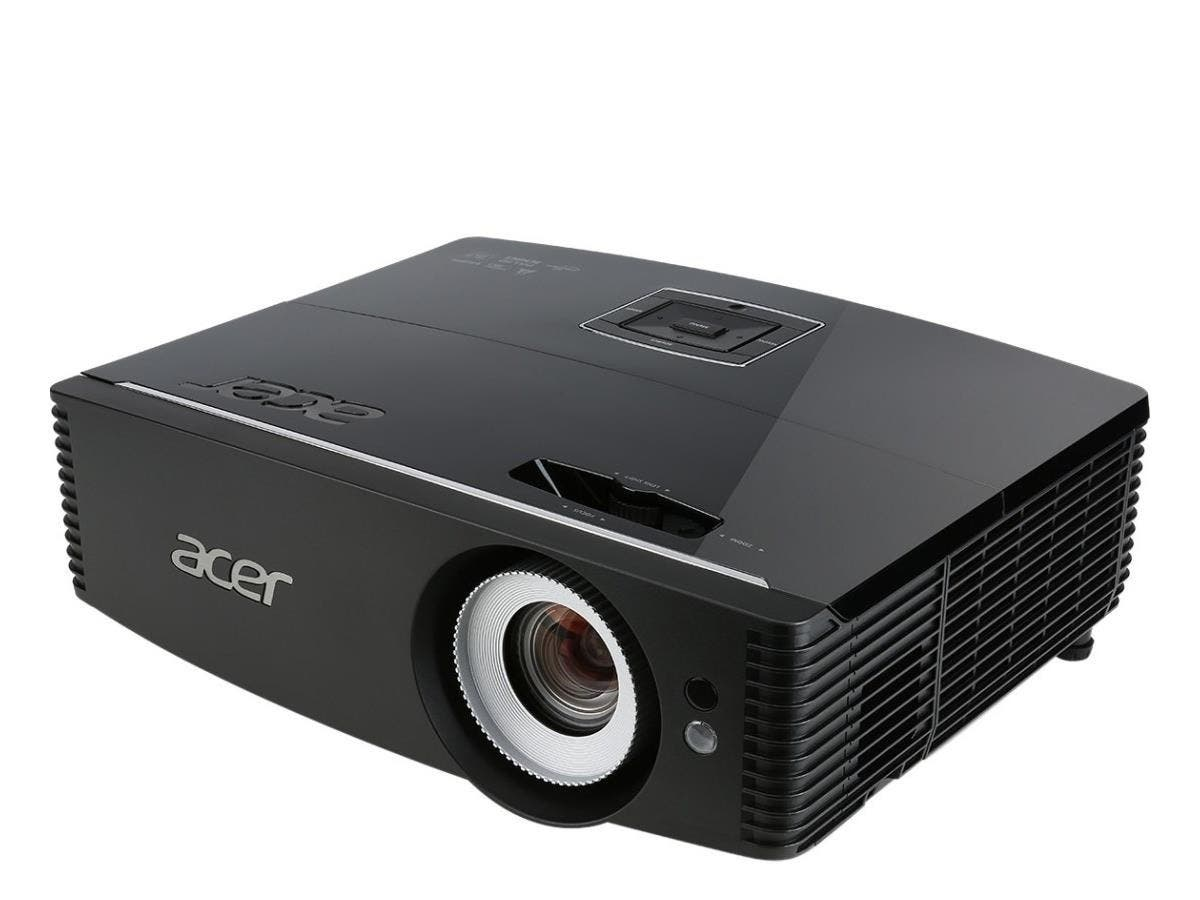 Acer P6500 3D Ready DLP Projector - HDTV - 16:9 - Front, Rear, Ceiling - F/2.5 - 3.26 - UHP - 365 W - NTSC, PAL, SECAM - 3000 Hour Normal Mode - 4000 Hour Economy Mode - 1920 x 1080 - Full HD - 20,000-Large-Image-1