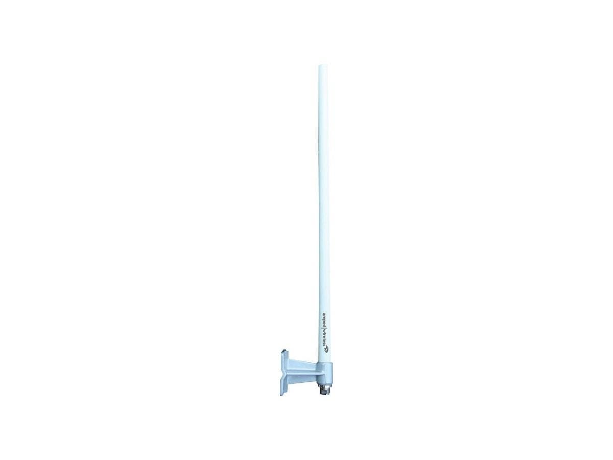 Amped Wireless A8EX High Power Outdoor 8dBi Omni-Directional WiFi Antenna Kit - Omni-directional - 8 dBi - 1 x N-type-Large-Image-1