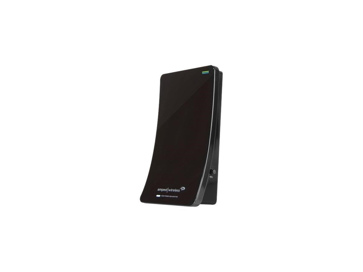 Amped Wireless UA2000 High Power Wireless-N Directional Dual Band USB Adapter - Long Range, Dual Band Wi-Fi-N, High Gain Directional Antenna, 3X Range-Large-Image-1