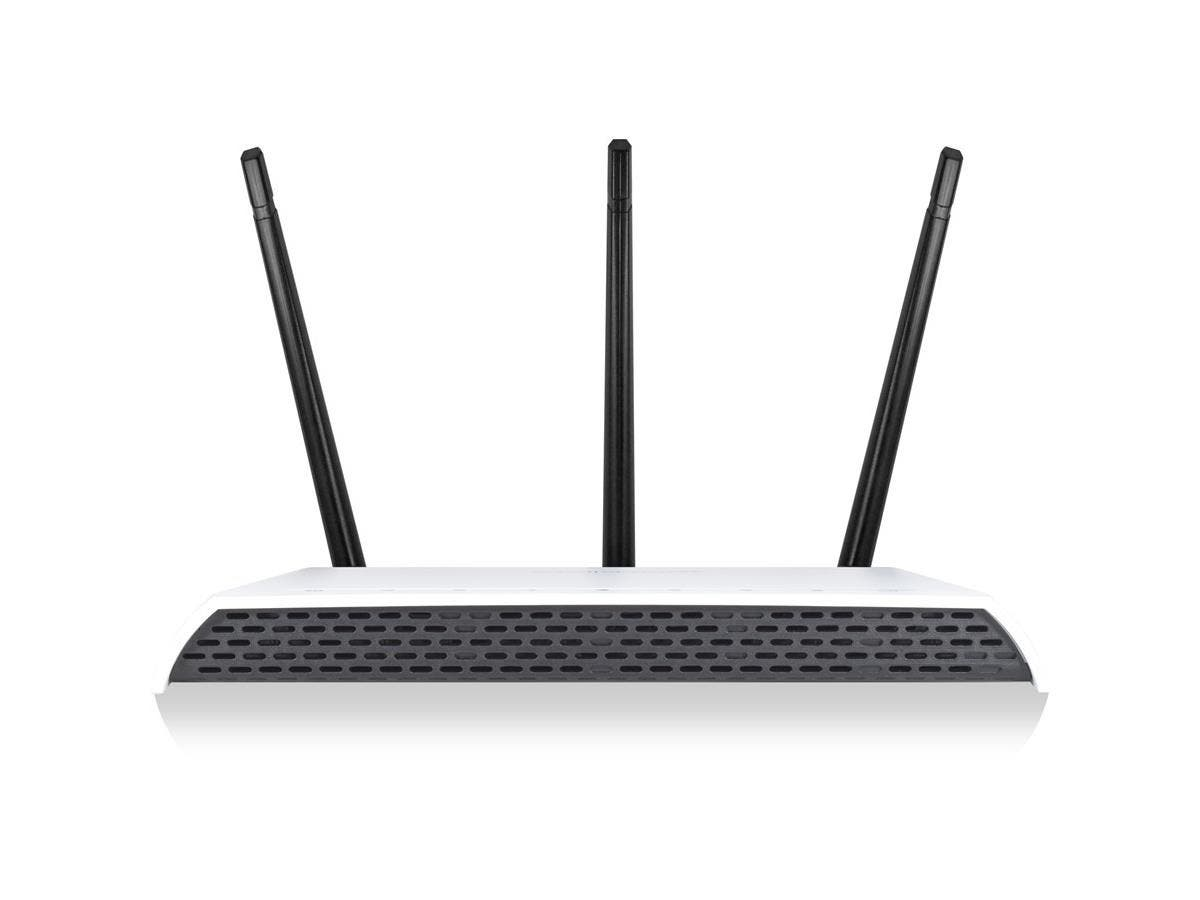Amped Wireless RE1750A IEEE 802.11ac 1.71 Gbit/s Wireless Range Extender - 2.40 GHz, 5 GHz - 3 x Antenna(s) - 3 x External Antenna(s) - 5 x Network (RJ-45) - USB - AC Adapter - Desktop, Wall Mountable