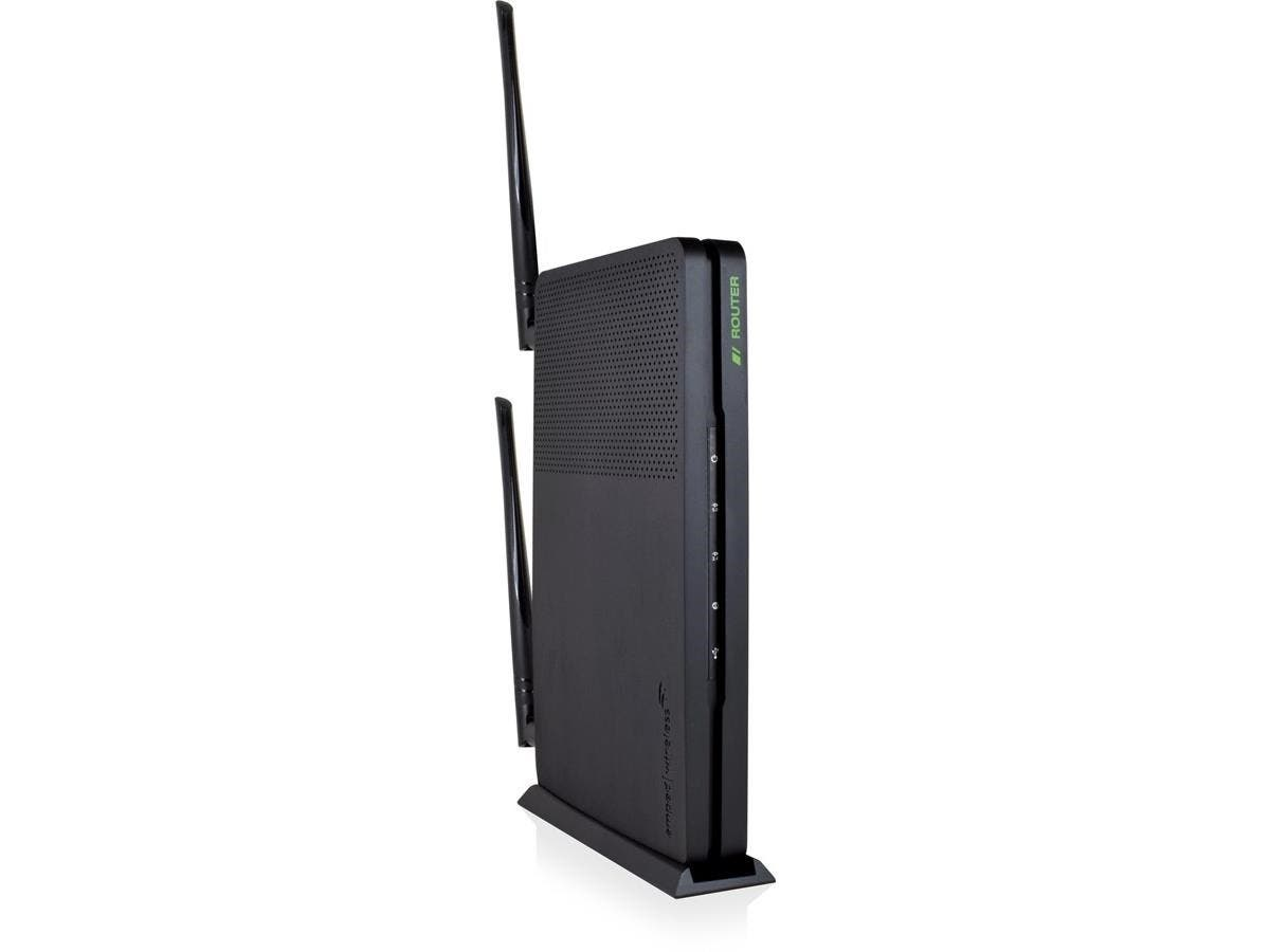 Amped Wireless ARTEMIS RTA1300M IEEE 802.11ac Ethernet Wireless Router - 2.40 GHz ISM Band - 5 GHz UNII Band(2 x External) - 1300 Mbit/s Wireless Speed - 4 x Network Port - 1 x Broadband Port - USB -