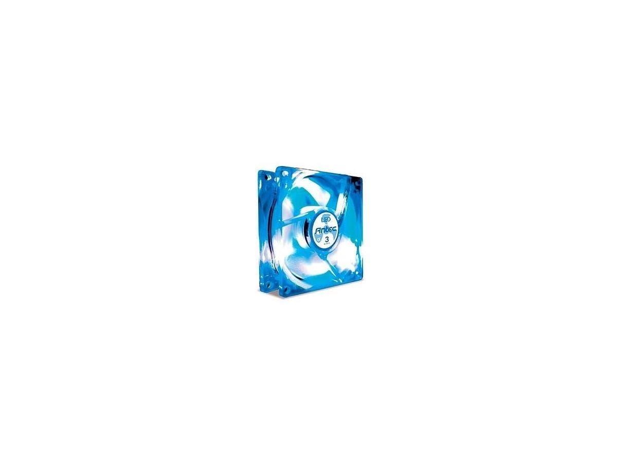 Antec TriCool Blue LED Case Fan - 80mm - 2600rpm-Large-Image-1
