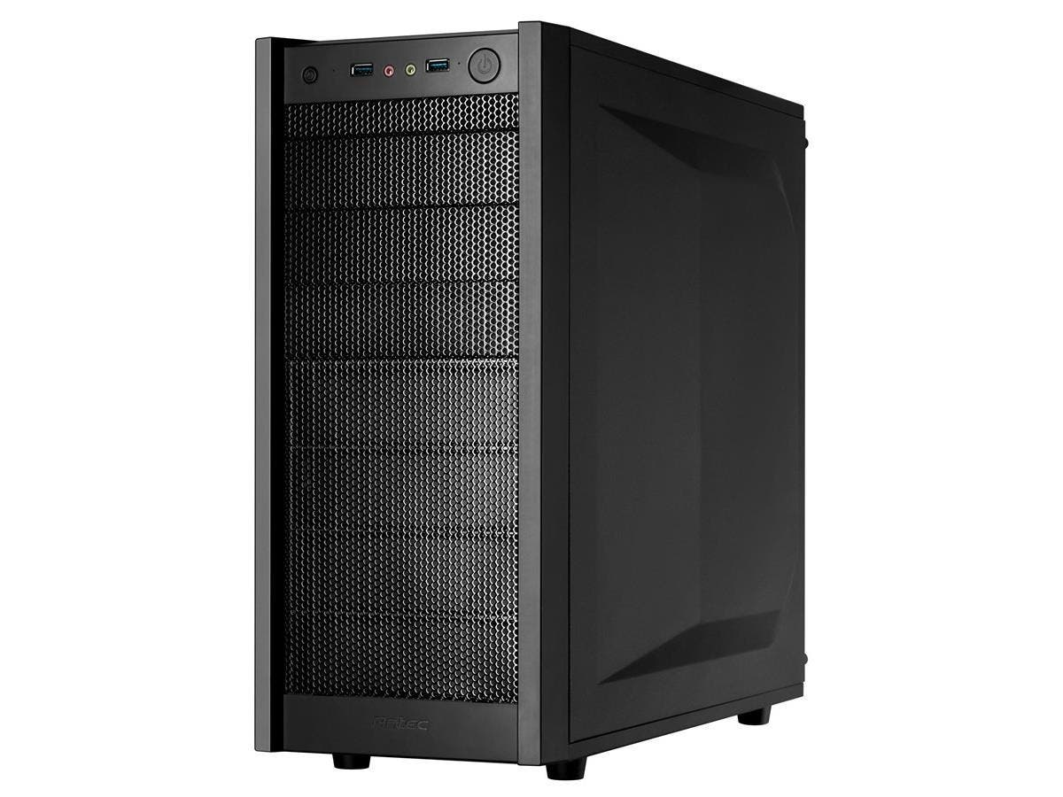 "Antec One Computer Case - Mid-tower - Black - 10 x Bay - 2 x 4.72"" x Fan(s) Installed - ATX, Micro ATX, Mini ITX Motherboard Supported - 10.80 lb - 5 x Fan(s) Supported"